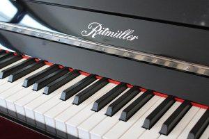 تاریخچه پیانو دیواری ریتمولر