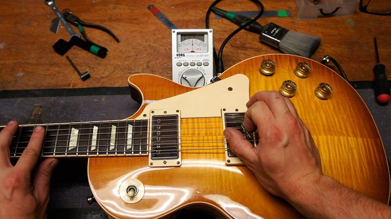 آموزش-تصویری-تنظیم-اکشن-گیتار-الکتریک