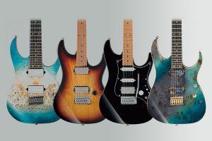 گیتار های آیبانز سری RG و AZ