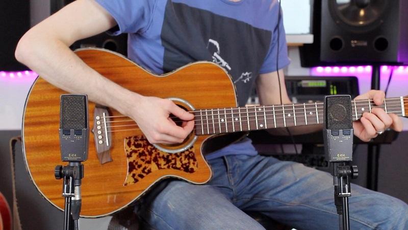 صدابرداری از گیتار آکوستیک