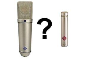 تفاوت-میکروفون-دیافراگم-بزرگ-کوچک