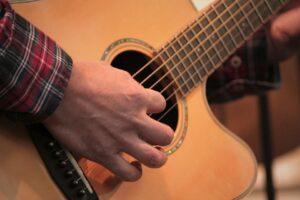 مراحل یادگیری گیتار