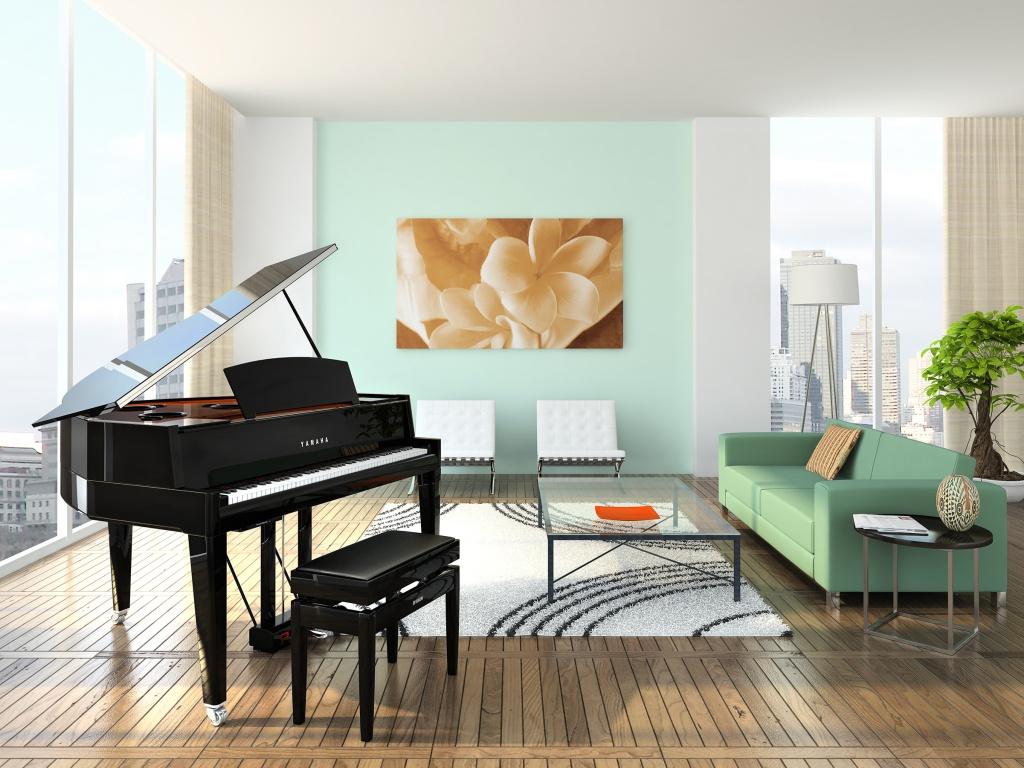پیانوی دیجیتال Yamaha CLP665-Gp