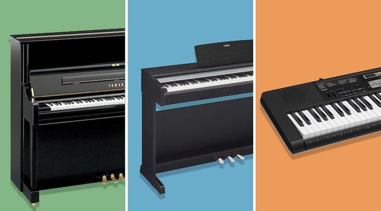 تفاوت اصلی پیانو دیجیتال و پیانو آکوستیک