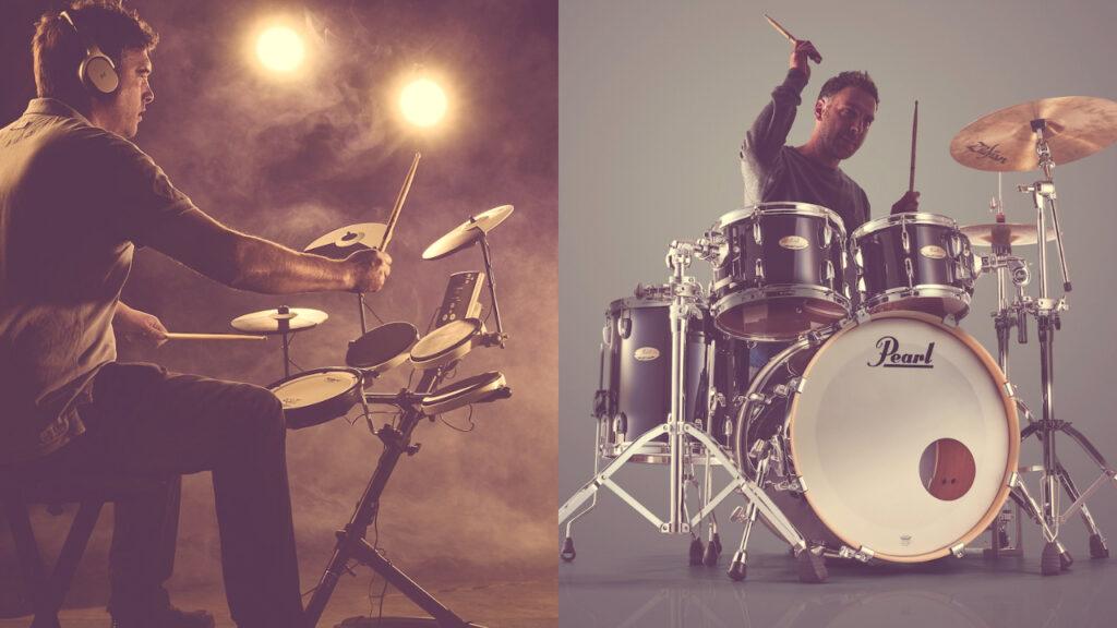 acoustic-drum-vs-electronic-drums