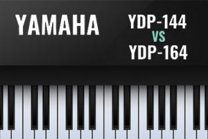 مقایسه پیانو یاماها YDP144 و YDP164