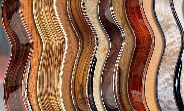 انواع چوب گیتار کلاسیک