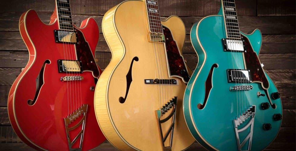 انواع گیتارهای الکتریک