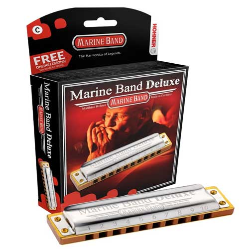 ساز-دهنی-دیاتونیک- Marine-Band-Delux