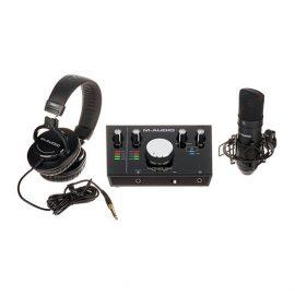 M-Audio M-Track 2×2 Vocal Studio Pro | پکیج استودیویی ام-آدیو