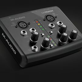 M-Audio M-Track کارت صدا