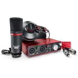 focusrite-scarlett-2i2-studio-bundle-کارت-صدا