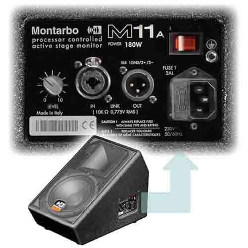 Montarbo-M11A -اسپیکر-اکتیو-مونتاربو