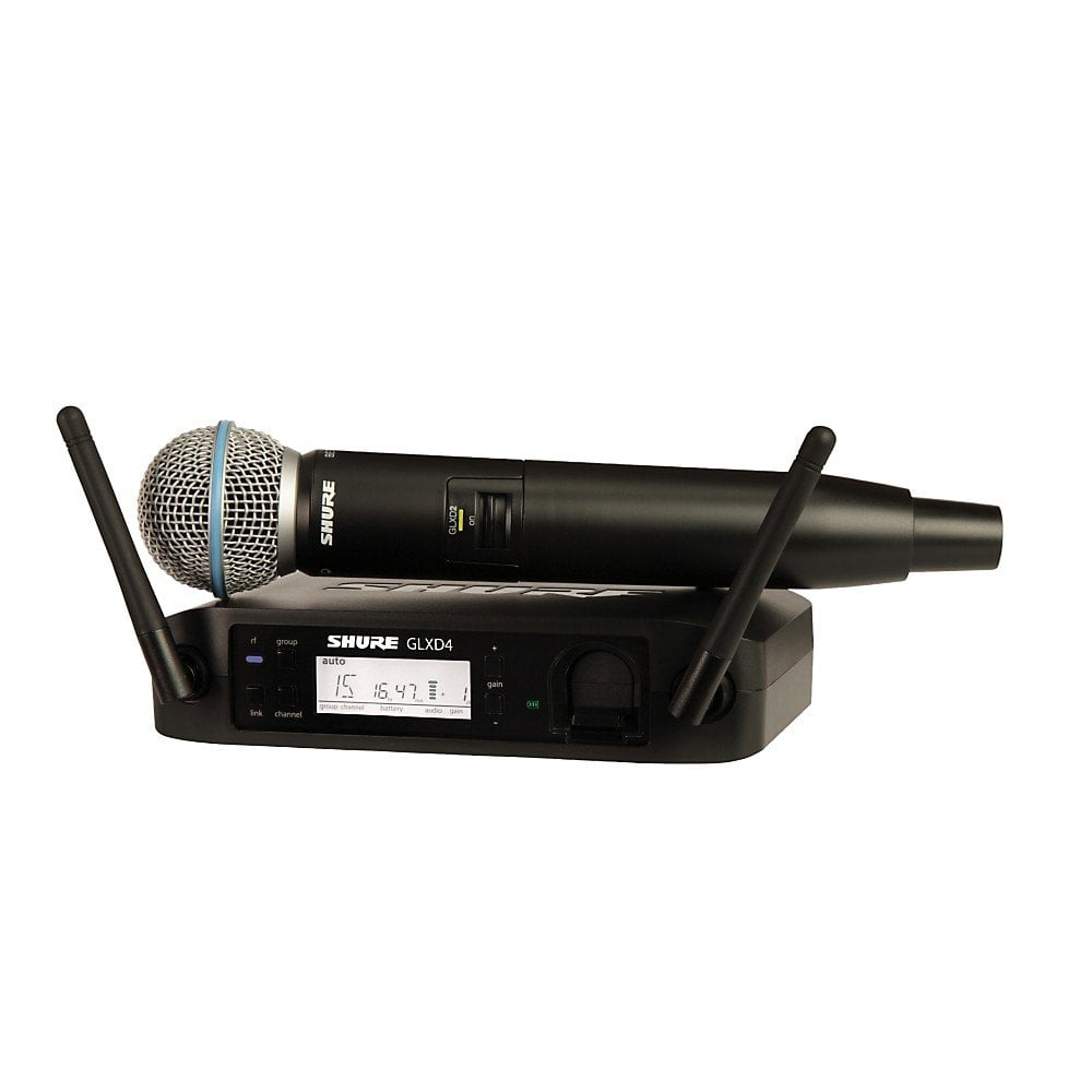 Shure GLXD24E/B58-Z2 | میکروفون وایرلس شور