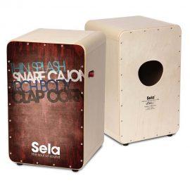 SELA SE080 CASELA PRO VINTAGE RED CAJON | کاخن سلا