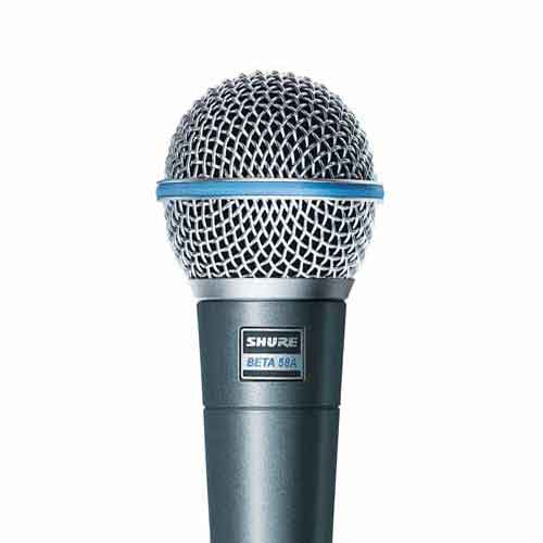 Shure-Beta-58A -میکروفون-داینامیک-شور.