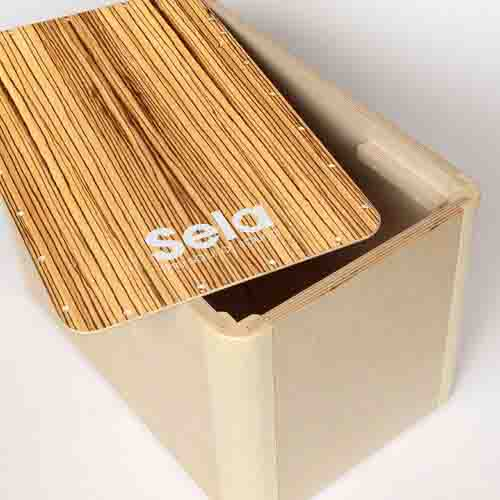 sela-se-002-casela-satin-nut-cajon-quick-assembly-کاخن-سلا