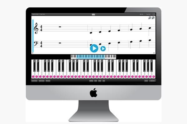 قابلیت اتصال پیانو به اپلیکشین