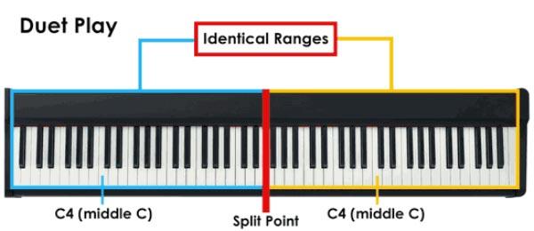 همنوازی با پیانو دیجیتال یاماها مدل YDP 143