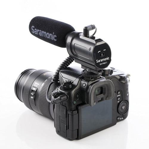 بررسی-میکروفون-دوربین-saramonic-pmic1
