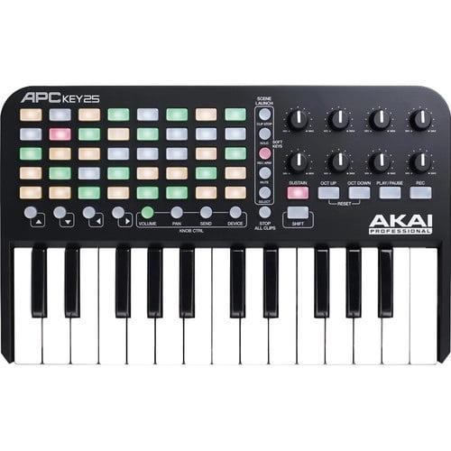 قیمت کیبورد کنترلر Akai APC Key 25