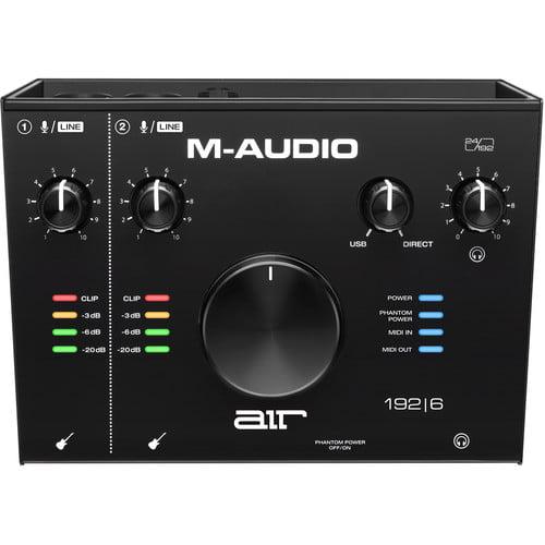 قیمت کارت صدا M-Audio AIR 192X6
