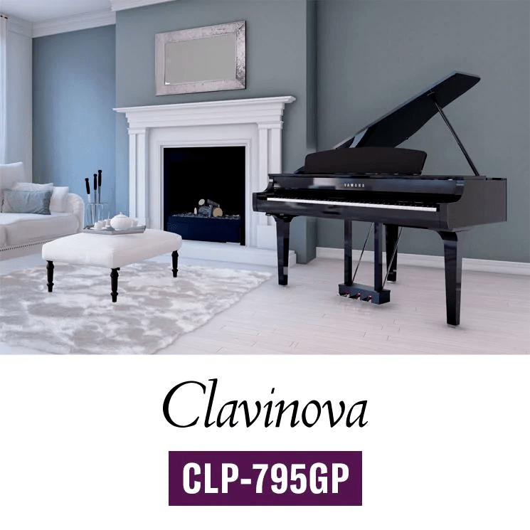 پرچمدار سری Clavinova پیانوهای Yamaha