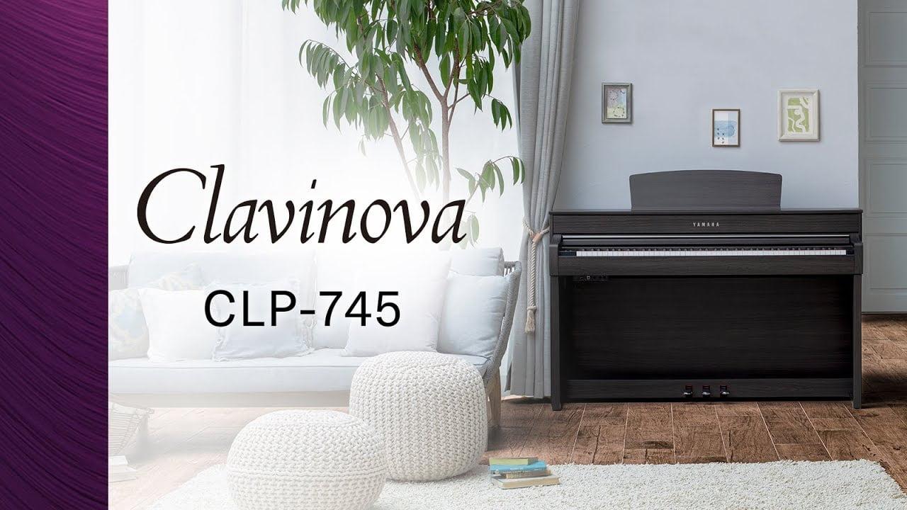 یک پیانوی دیواری زیبای دیگر از سری Clavinova