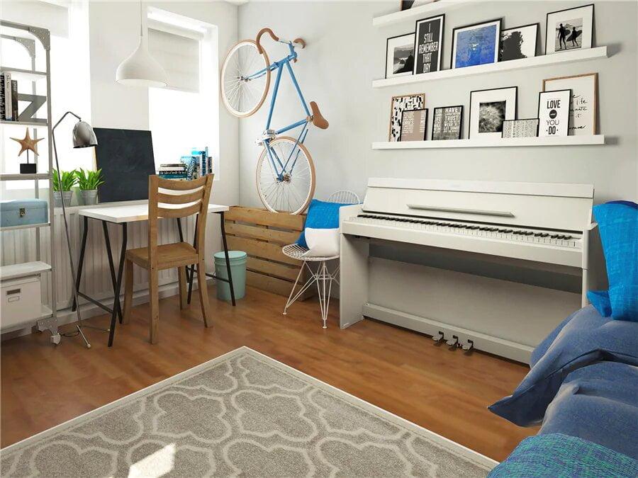 تجربه ی نوازندگی با یک پیانوی خانگی حرفه ای