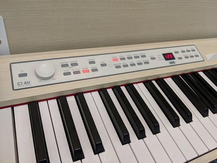 همانندسازی Key-off در پیانو دیجیتال Korg C1