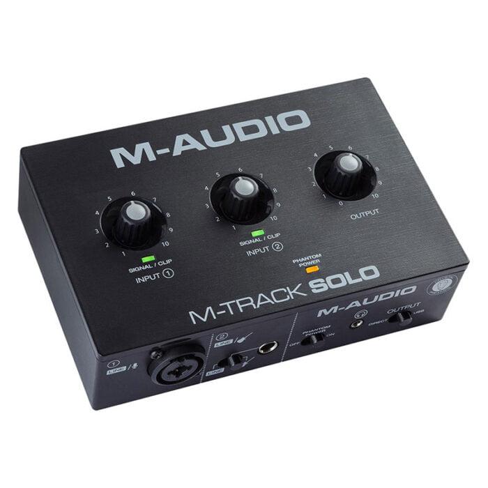 بررسی کارت صدا m-audio m-track solo