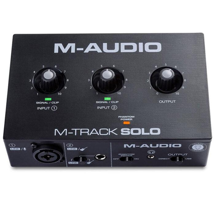 خرید کارت صدا m-audio m-track solo