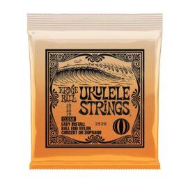 Ernie Ball ConcertSoprano Nylon Ball End Ukulele Strings-Clear