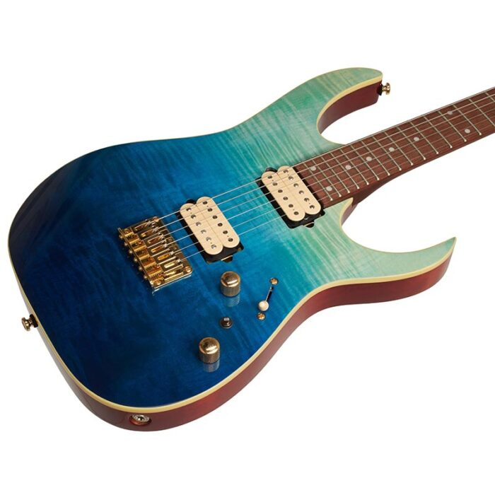 Ibanez RG421HPFM-BRG - گیتار آیبانز