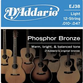D'Addario EJ38 سیم گیتار آکوستیک